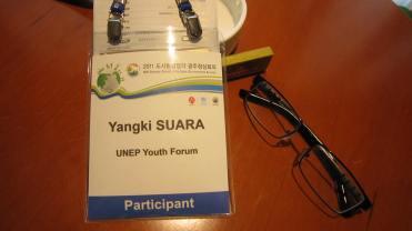 Yangki's badge