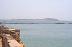 Gorée Island: view from Dakar