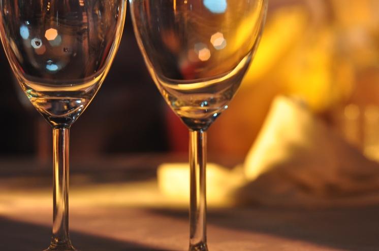 Empty Glass of Wine