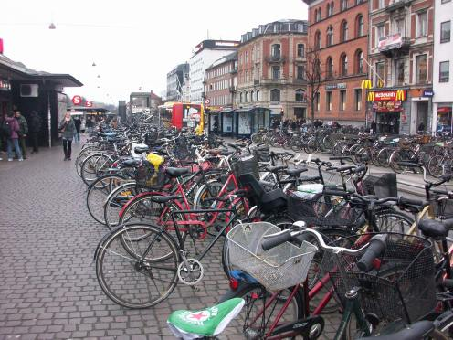 Bicycle Park Zone