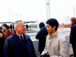 With Bahia Officer, Brazil