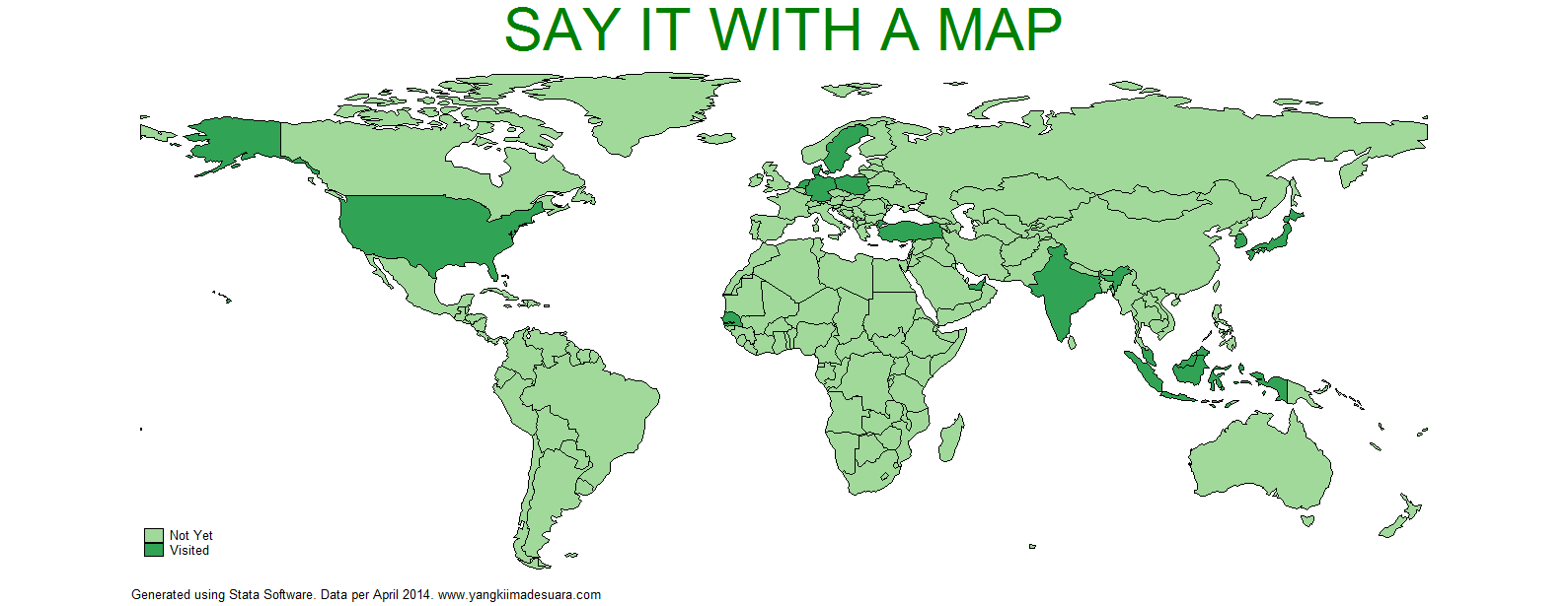 Stata Tutorial: Say It with a Map – Yangki Suara on